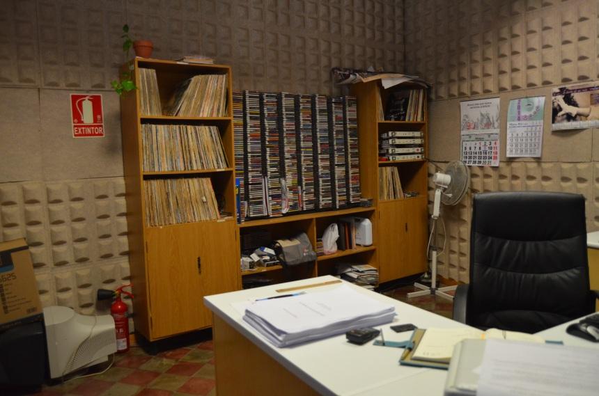 Radio Castro y su fonoteca