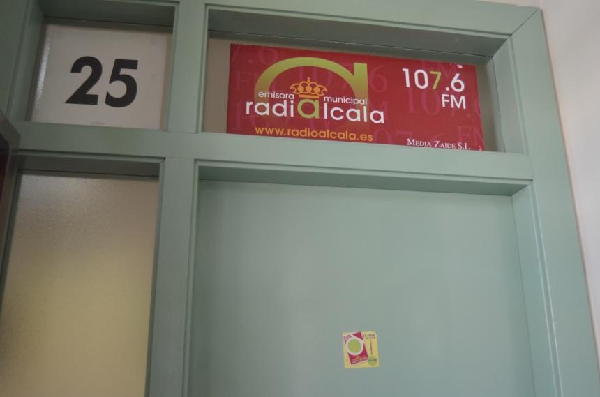 Radio Alcalá entrada