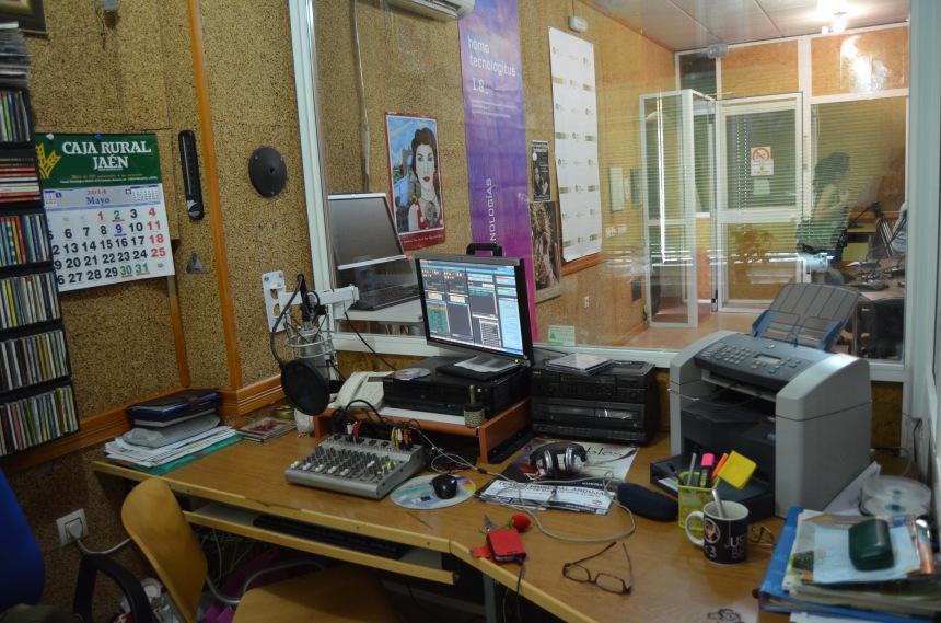 Radio Marmolejo cabina