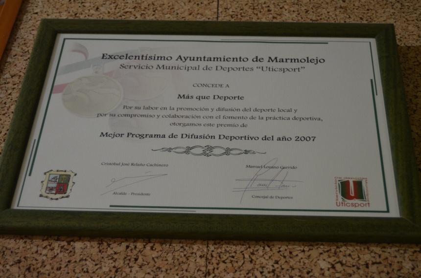 Radio Marmolejo premio